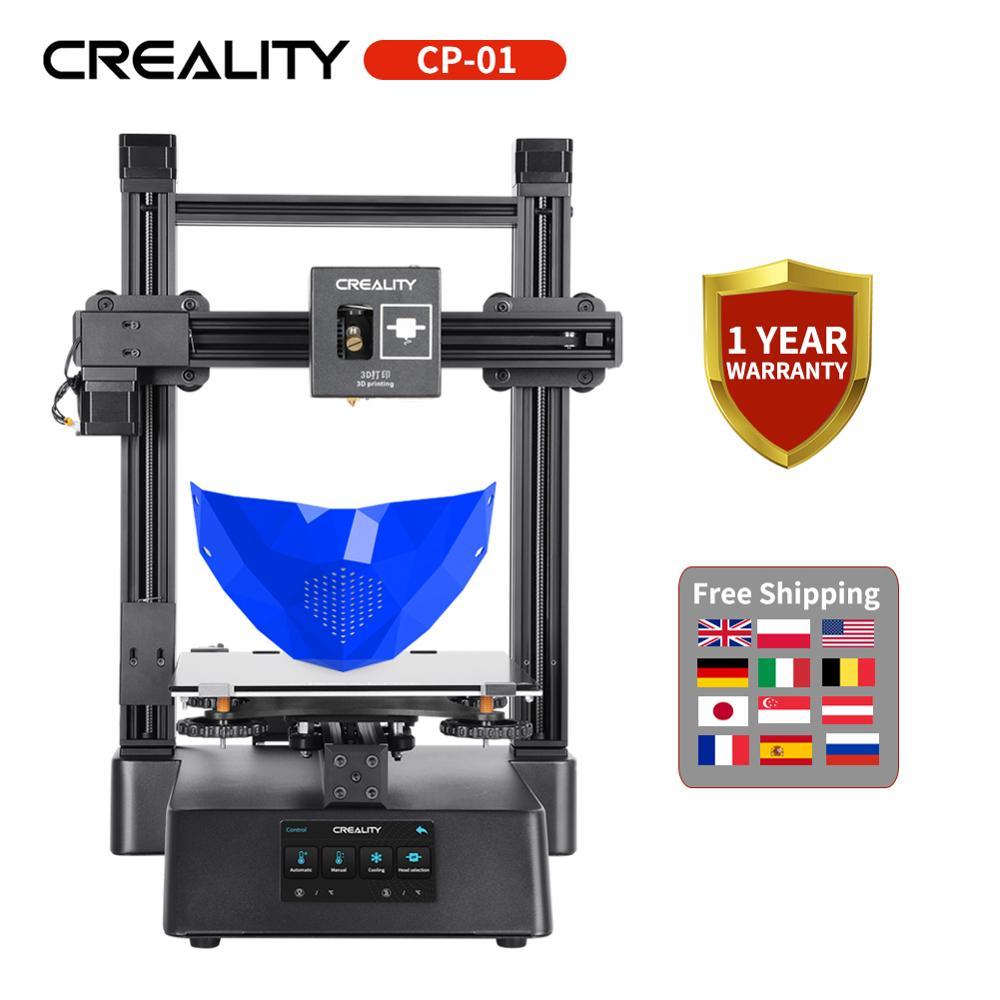 CREALITY 3D nueva CP-01 3 en 1 impresora con función de corte CNC 4800RPM grabado láser impresión 3D