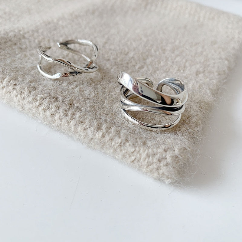 Женское-кольцо-с-открытым-пальцем-серебряное-кольцо-с-геометрическим-рисунком