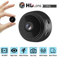 2Colors 1080P Mini IP WIFI Camera Camcorder Wireless Home Security DVR Night Kamera 5.0MP 1inch Fixe