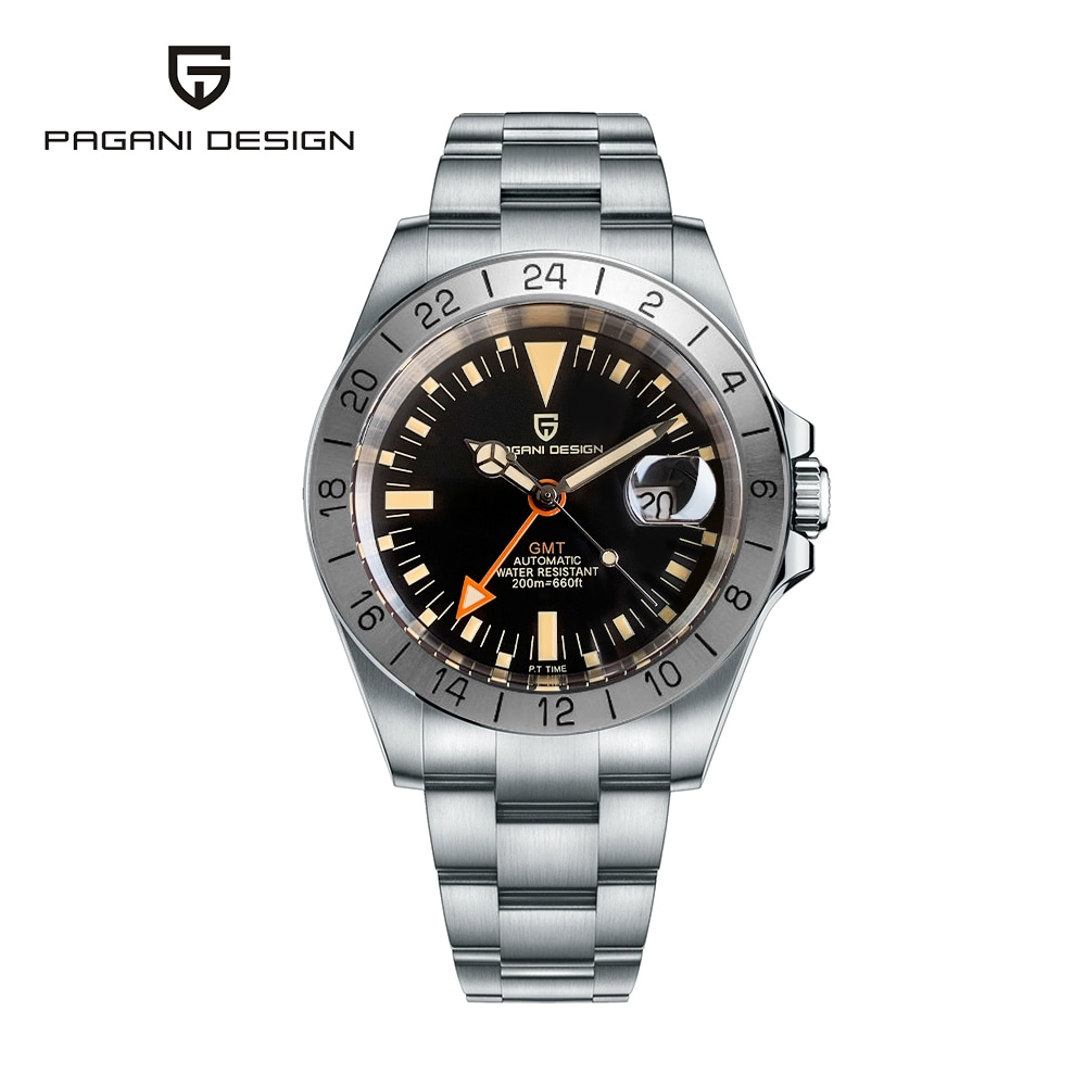 Pagani تصميم 2021 موضة جديدة ساعة رجالية عادية الميكانيكية 42 مللي متر الياقوت الزجاج 200 متر مقاوم للماء ساعة أوتوماتيكية Relogio Masculino