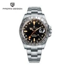 Pagani Design 2021 New Fashion Casual Men Mechanical Watch 42MM Sapphire Glass 200M Waterproof Autom