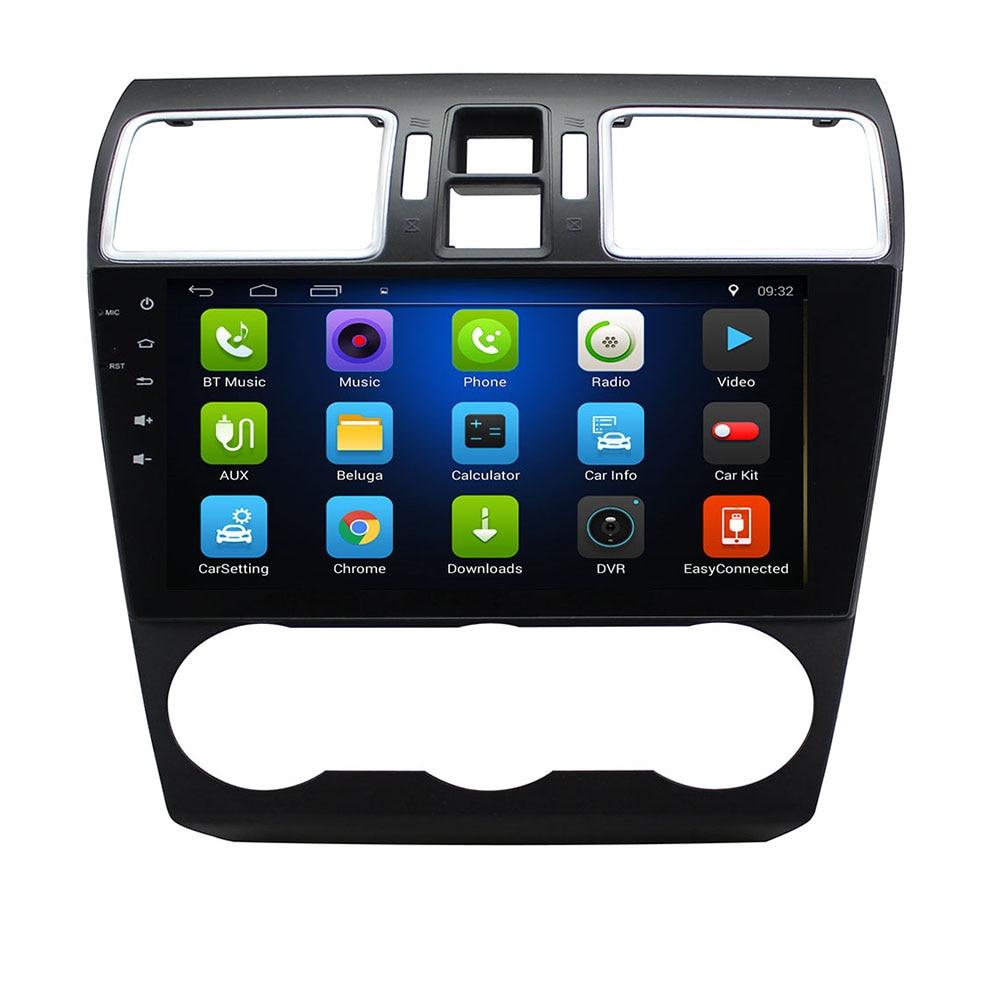 Android 9,0 coche DVD para Subaru Impreza Forester WRX 2013-2018, 2019 3G/4G GPS radio video reproductor Multimedia capacitiva IPS pantalla