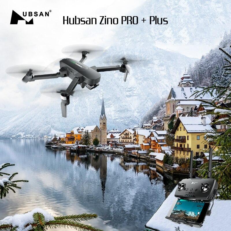 Original Hubsan Zino PRO +Plus GPS 5G WiFi 8KM FPV with 4K 30fps UHD Camera 3-axis Gimbal 43mins Flight Time RC Drone Quadcopter