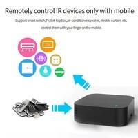 Controleur de temperature et dhumidite sans fil  pour maison connectee  avec WiFi  telecommande IR  Tuya  application Smart Life  avec Alexa et Google