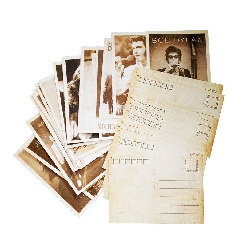 32 шт. в упаковке, винтажные открытки с изображением кинозвезд, Набор открыток, женские открытки, рождественские открытки для взрослых, подар...