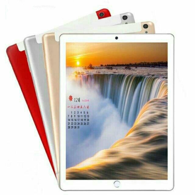 2020 neue 10,1 inch die Tablet Android 8,0 10 Core 6GB RAM + 128GB ROM Dual Kamera 5MP SIM Tablet PC Wifi GPS FM 3G 4G Lte telefon