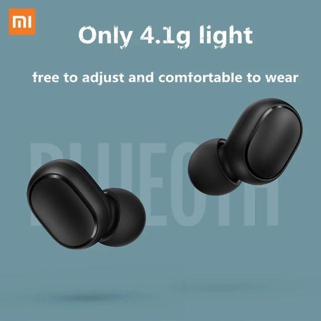 New Xiaomi Redmi AirDots 2 Wireless Bluetooth 5.0 redmi airdots2 Mi Ture Wireless Earbuds In-Ear stereo bass NOT redmi airdots s 4