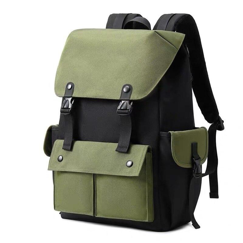 حقيبة ظهر مدرسية غير رسمية للطلاب ، بسيطة ، متعددة الوظائف ، ضوء ، سفر ، كمبيوتر ، 2020