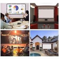 16 9 60 72 84 100 120  pouces pliable ecran de Projection Home cinema cinema H05A