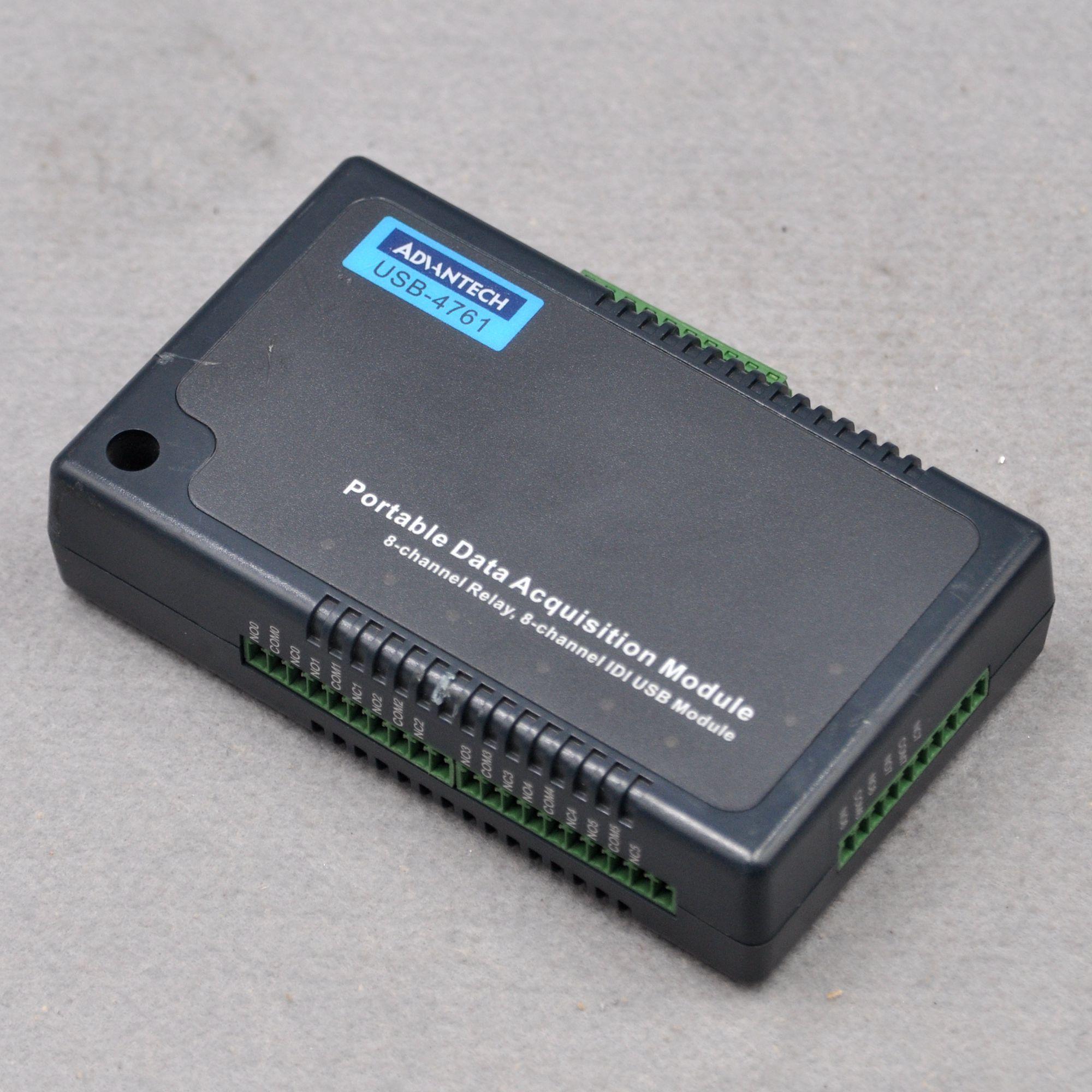 Advantech USB-4761 8-channel relay 8-channel isolated DIUSB USB flash drive module