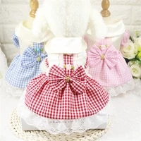 summer dress for dog pets dog clothes chihuahua wedding dress skirt puppy clothing spring dresses for dogs pet clothes%c2%a0