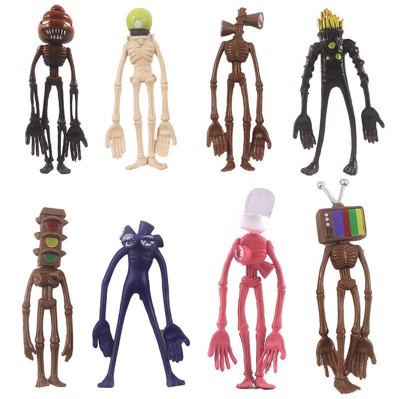 AliExpress - 4inch Siren Head Action Anime Figure PVC Pokemon Figures Figurines Manga Ornaments Dolls Kids Toys For Boys Gifts