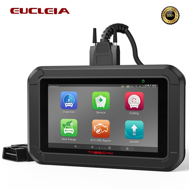 Eucleia Tabscan X7 OBD2 Scanner Engine System Analyzer Throttle BRT Reset EOBD Car Diagnosis OBD 2 Automotivo Diagnostic Tools