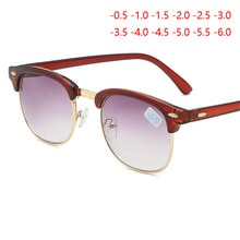 Prescription Sunglasses With Diopter SPH -0.5 -1.0 TO -5.5 -6.0 Men Women Fashion Myopia Spectacles