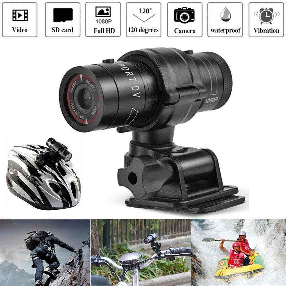 Full HD 1080P Mini Sports DV Camera Bike Motorcycle Helmet Action DVR Video Cam Perfect for Outdoor Sports Camera