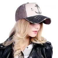 men and women pure cotton baseball hats snapback cap hip hop style pirate ship anchor 5 panels
