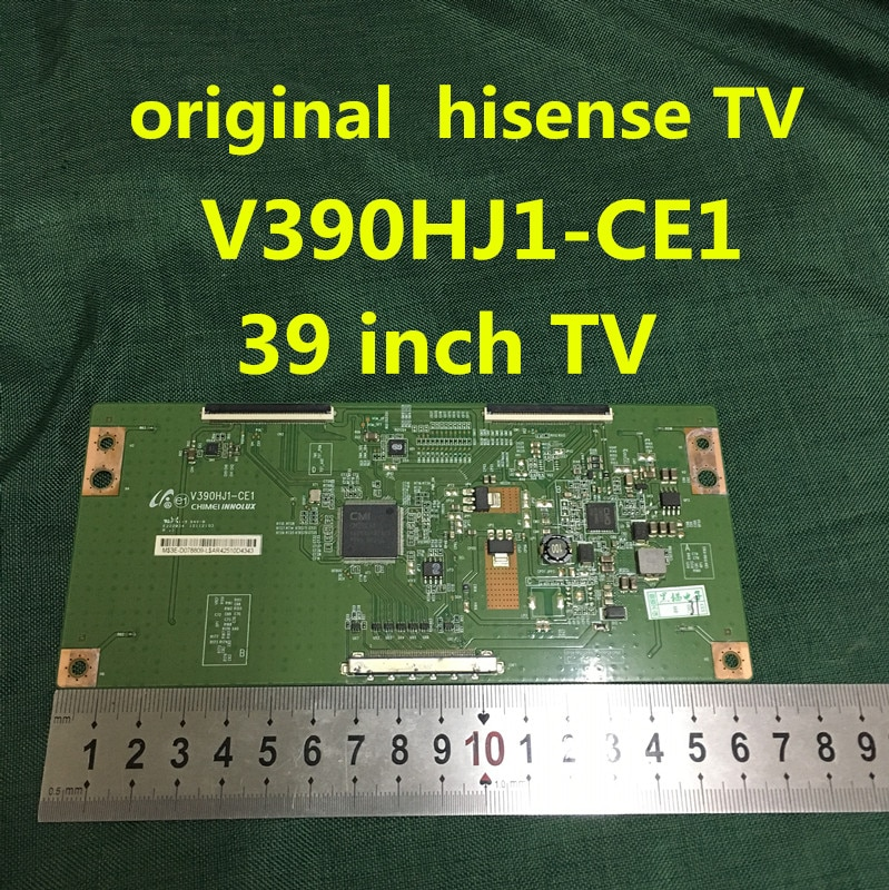Oryginalny dla hi sense tv tablica logiczna LED39K300J V390HJ1-CE1 ekran V390HJ1-LE1 100% test, bezpłatna dostawa