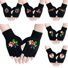 Super Mario Bros Anime Gloves Cosplay Costumes Mittens Anime apparel Props Men and women keep warm a