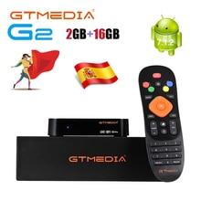 GTmedia G2 TV BOX Android 7.1 Smart TV Box 2GB 16GB WIFI Google Cast Netflix décodeur PK G1 GTC X96mini avec M3U GTplayer