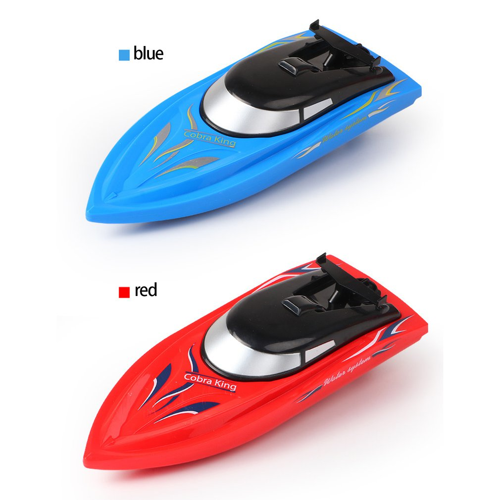 2.4G Remote Control Ship 10km/h High Speed Rowing Summer Boat Rechargeable Children Remote Control RC Speedboat Model Toy enlarge