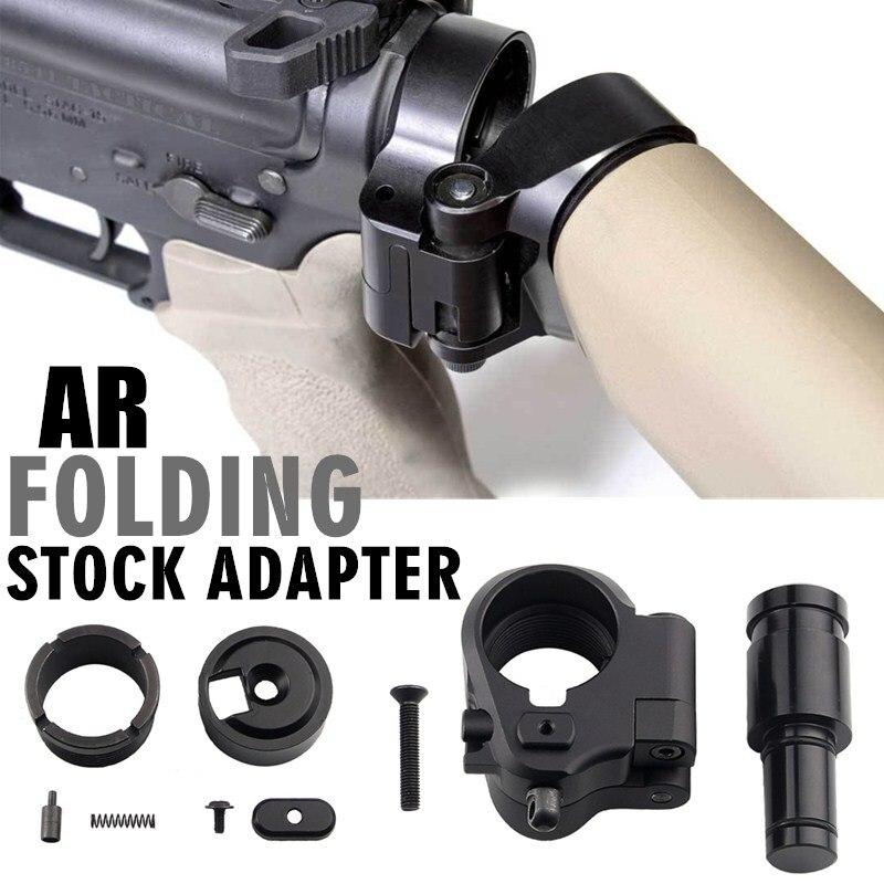 التكتيكية AR للطي الأسهم محول 30 مللي متر ل M16/M4 SR25 سلسلة GBB(AEG) الادسنس نطاق المسدس الادسنس الصيد اكسسوارات RL2-0042