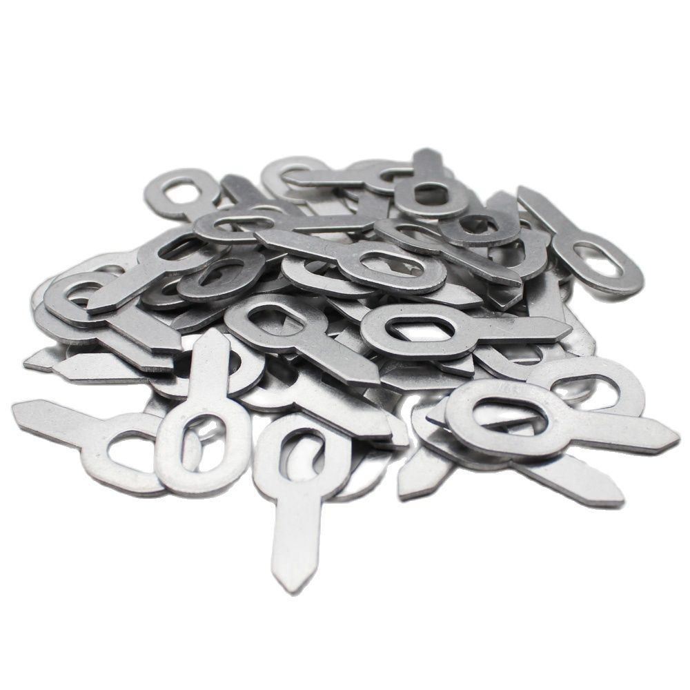 100PCS Aluminum Straight Pull Rings For Car Body Dent Removal