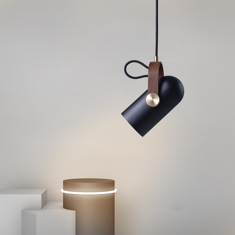 Modern LED Droplight Bar Counter Table Nordic Creative Study Bedroom Stylist Single Lamps And Lanterns Bed-head Spot LED Light creative contemporary single head restaurant bar bedroom of children clothing store droplight of glass ball and spherical shape