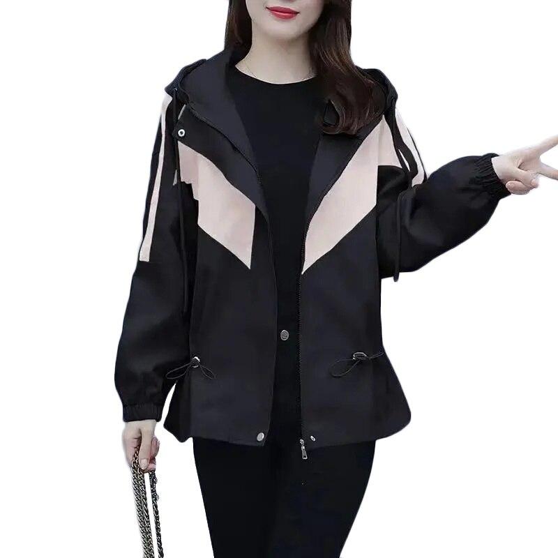 Nueva primavera y otoño de las mujeres de Abrigo suelto coreano chaqueta...