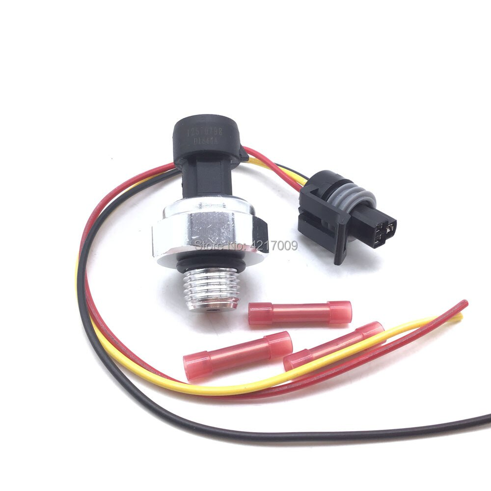 Nuevo Sensor de presión de aceite de motor interruptor enchufe Cable de cola de cerdo para Cadillac para Chevrolet para GMC para Buick 12621649 12674782