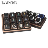 store retail useful display cabinet jewelry display tray multi specification customizable pendant