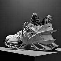 Лезвие спортивная обувь для мужчин высокого качества Обувь с дышащей сеткой Дизайнерские кроссовки мужские кроссовки для бега прогулок ат...