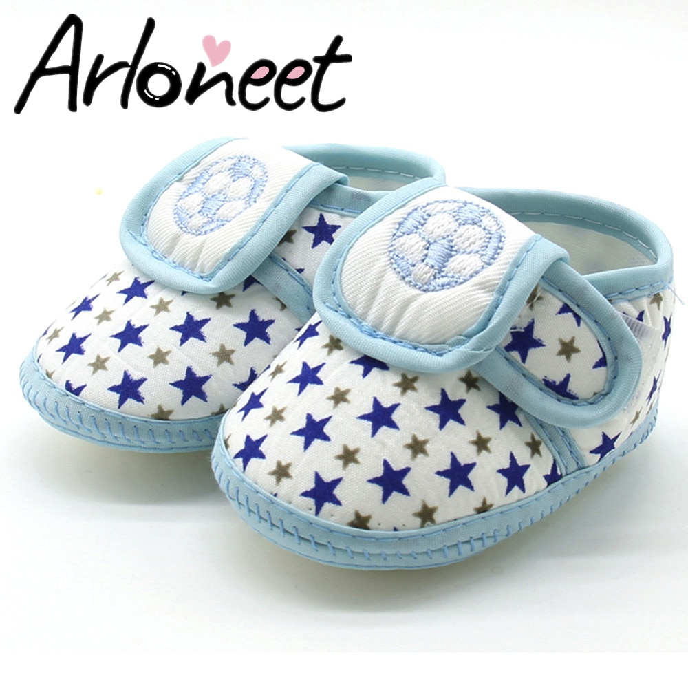 Newborn Infant Baby Star Girls Boys Soft Sole Toddler shoes Winter Warm Casual Flats Shoes ўраж�