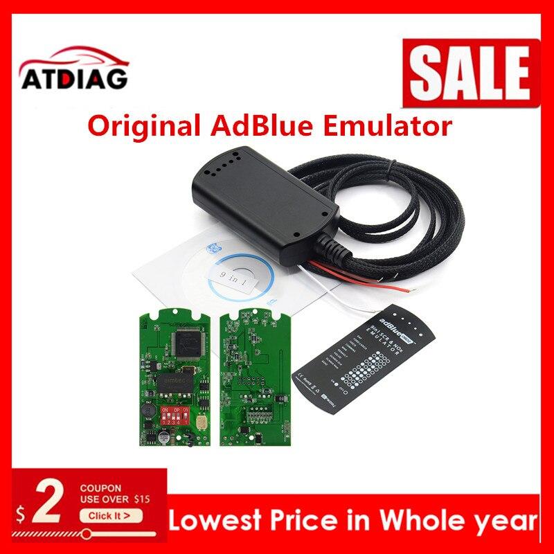 Adblue 9 em 1 adblue emulação 9 in1 não qualquer software 9 in1 universal adblue emulador para 9 tipo caminhões