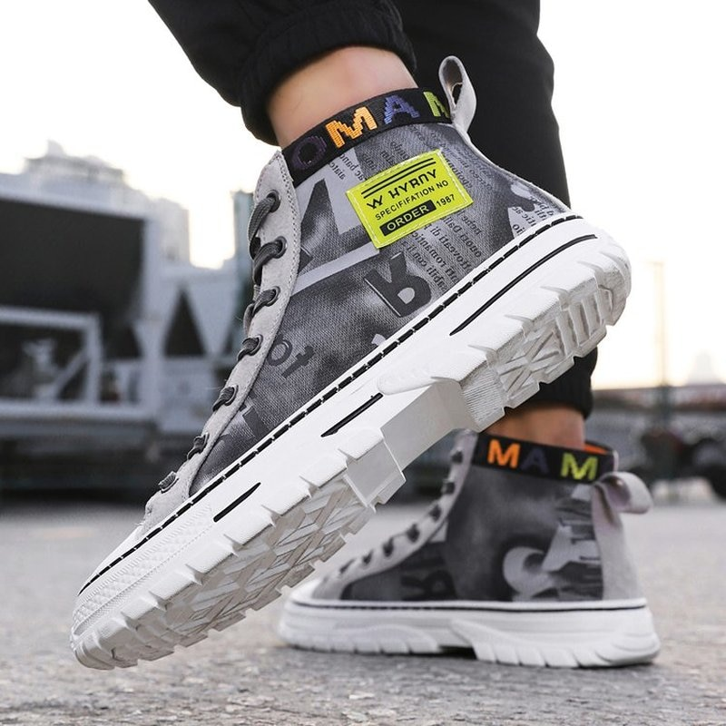 New Arrivals High Quality Non-Leather Lace-up Casual Fashion Low Heel Daily Style Men Sneakers Zapat