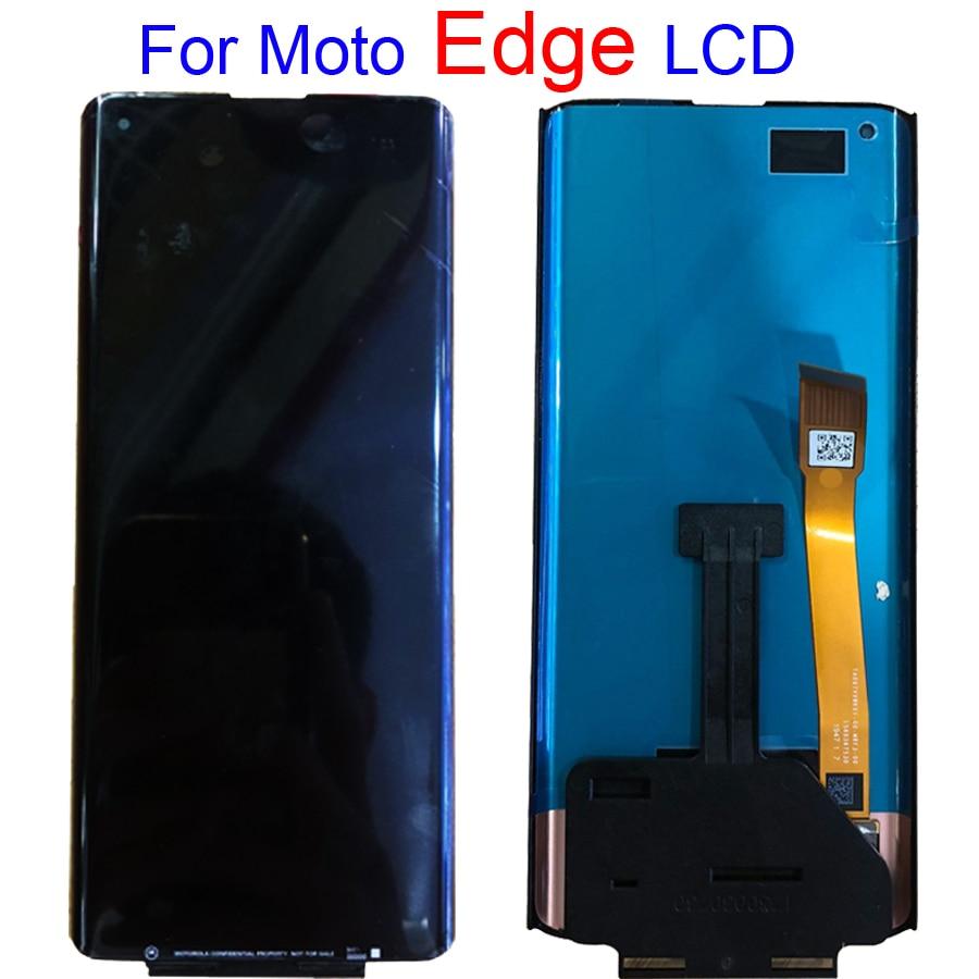 الأصلي ل موتورولا موتو حافة LCD تعمل باللمس محول الأرقام الجمعية عرض ل موتورولا موتو حافة شاشة LCD