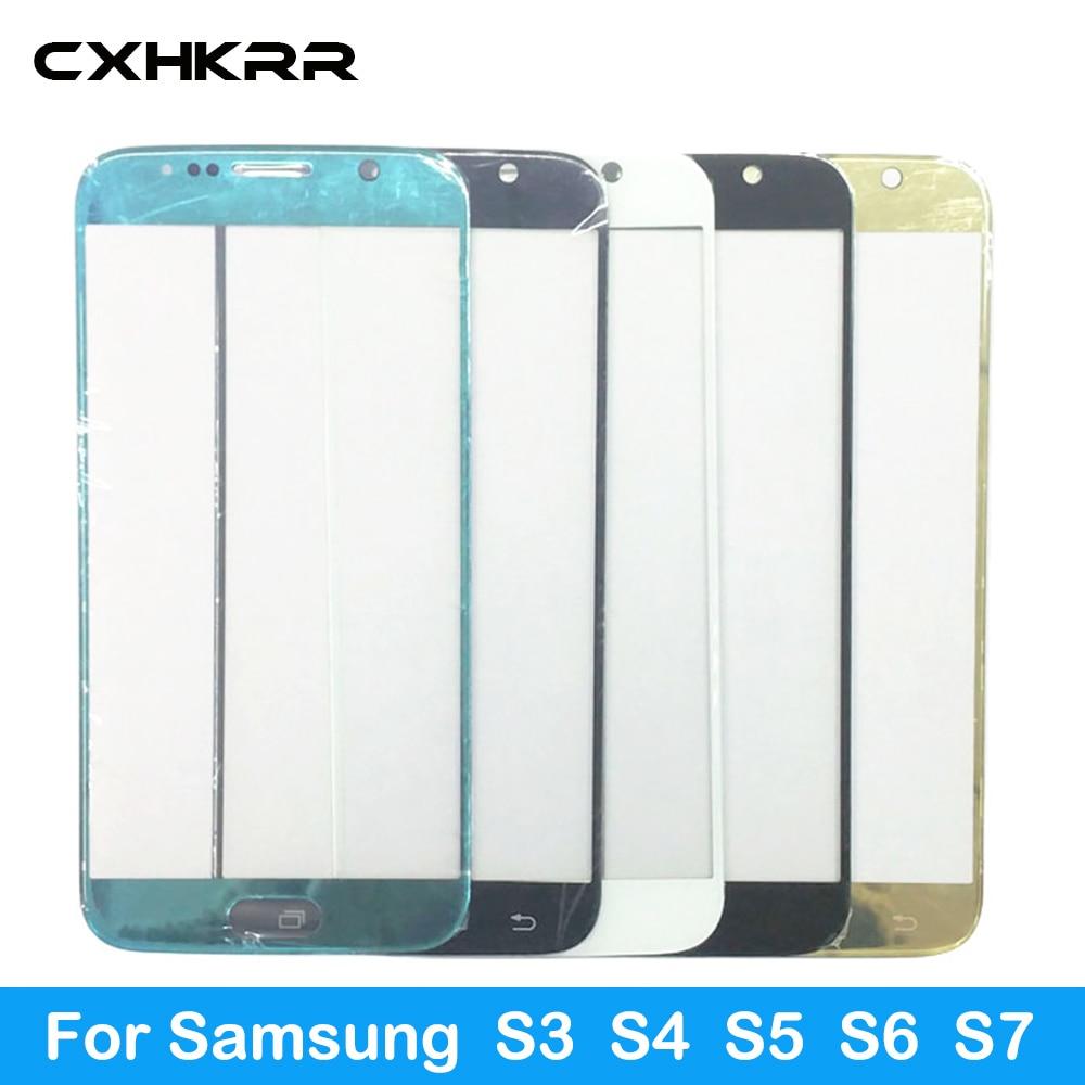 Nadaje się do Samsung S3 S4 S5 S6 S7 zewnętrzny ekran szklana osłona ekranu osłona ekranu