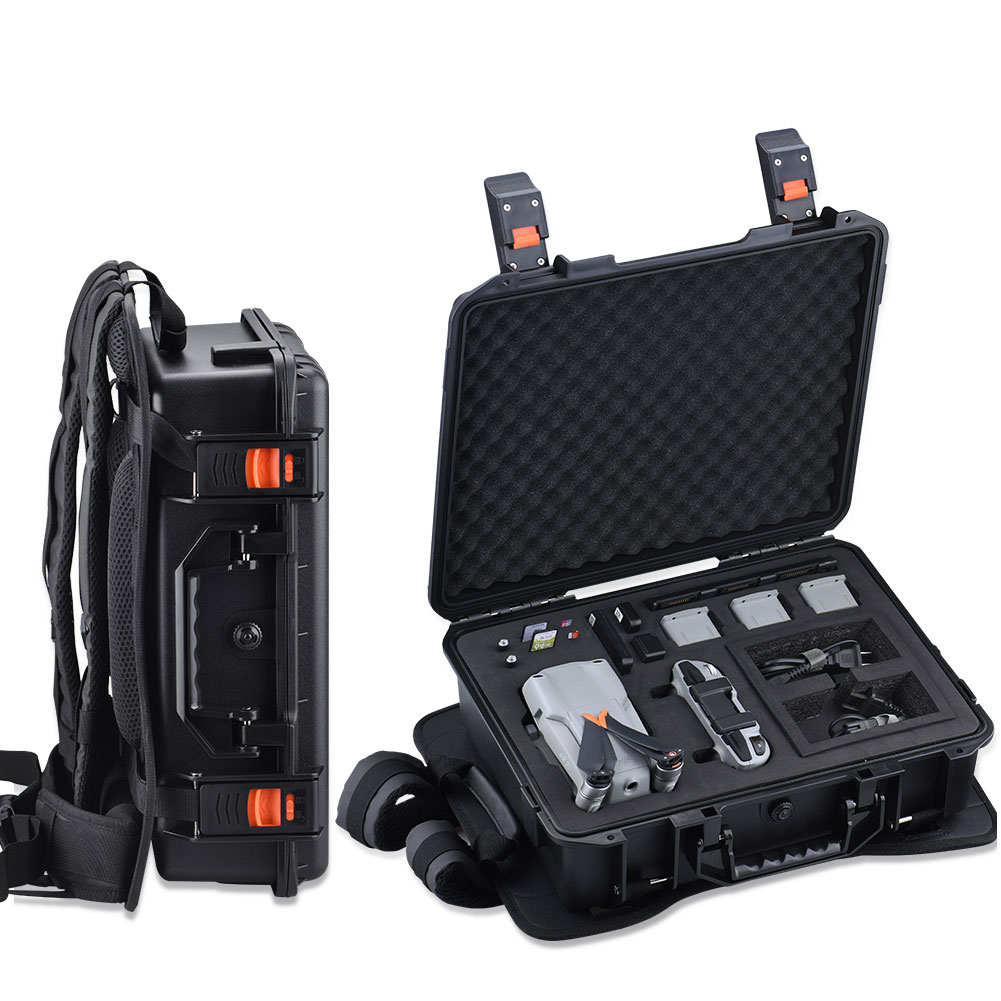 Safety Backpack Waterproof Backpack Case Hard Shell Case Back Strap For DJI Mavic Air 2/Air 2S Drone Flymore Combo Accessories