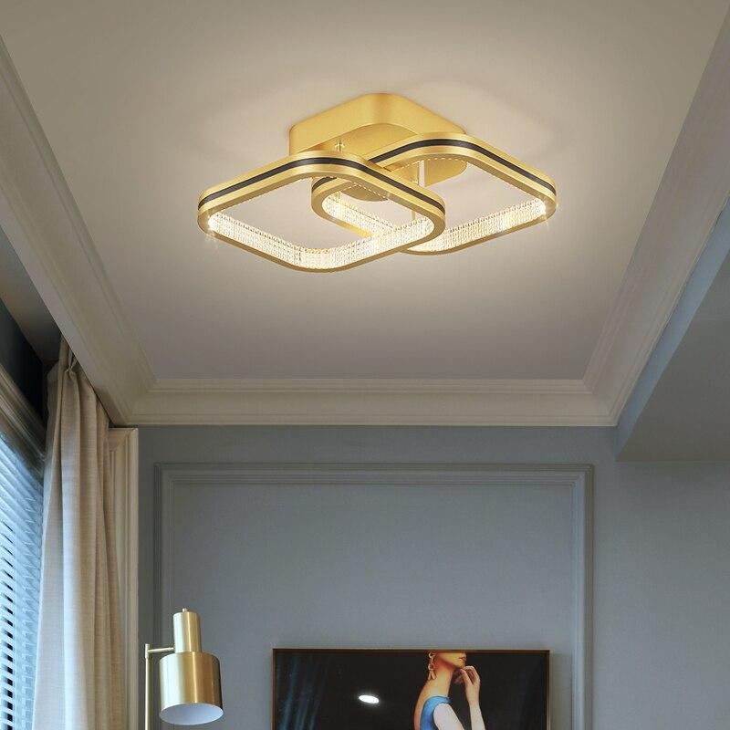 Luces de techo led modernas para dormitorio, pasillo, vestíbulo, pasillo, decoración del...