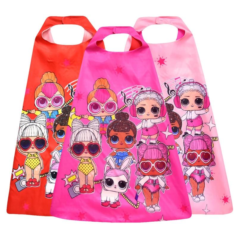 LOL surprise dolls capa Original anime película dibujos animados lols muñecas sorpresa muñecos de acción fiesta decoración cosplay para regalos de niña