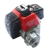 motorcycle parts 1e44 5 49cc engine with gearbox for 2 stroke mini dirt bike pocket atv good quality