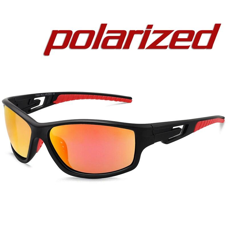 Sports Sunglasses Men Travel Mens Outdoor Cycling Sunglasses Black Frame Eyewear Male Sun Glasses UV400 Oculos de sol MJ8013