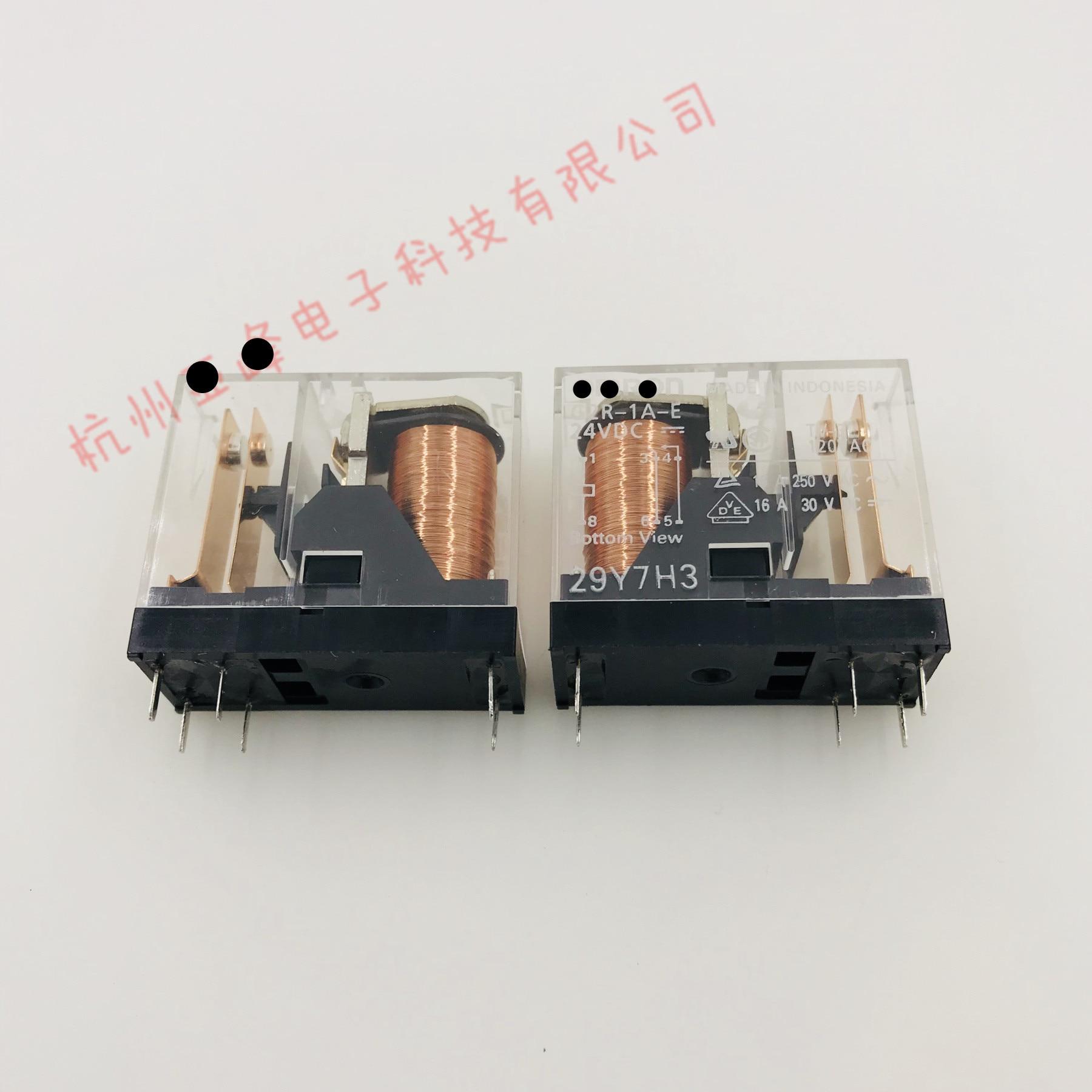 (10 peça) Relé G2R-1-E-12VDC G2R-1-E-24VDC G2R-1-E 12VDC G2R 1 E 12V 24V 8PIN 16A Novo