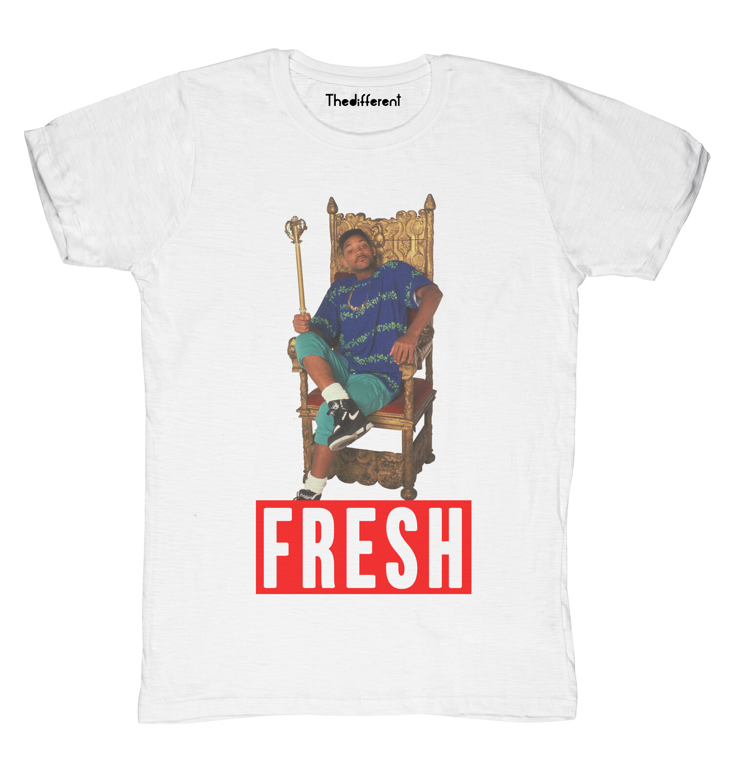 Nueva camiseta Blaze Man Willy Prince Fresh Idea regalo camiseta hombres camisetas divertidas manga corta