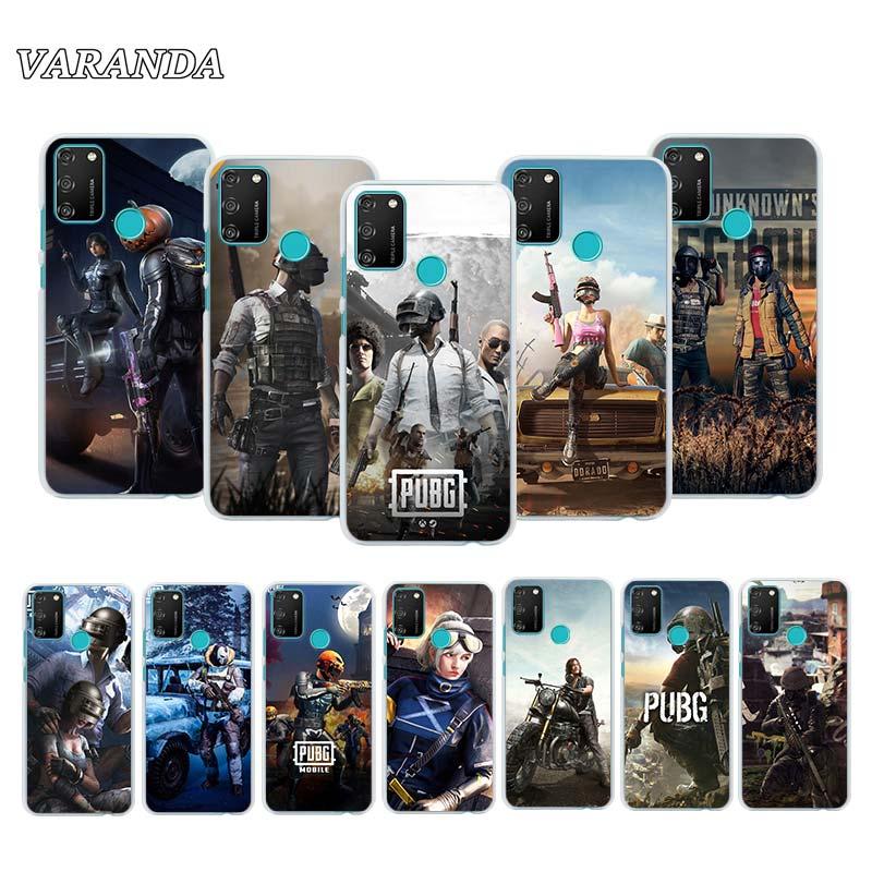 Coque de téléphone pour Huawei Honor 9A 9C 9S 8S 9X 8X 8A 10 20 Lite 20 Pro 20S 20i 20e Play 9A housse Couqe Fundas Pubg