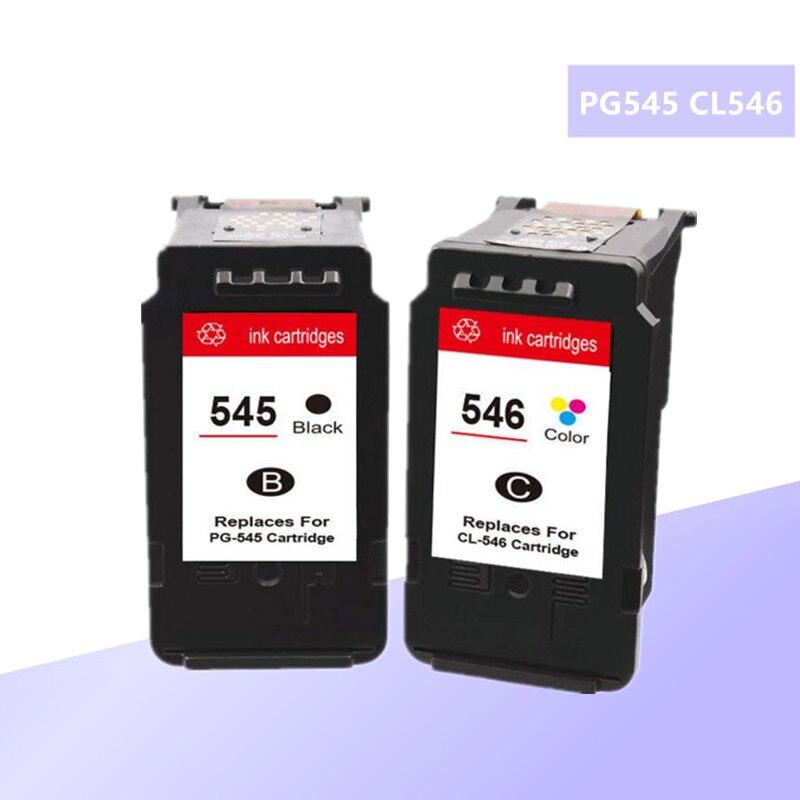 متوافق 545XL 546XL 545 XL 546 XL خرطوشة الحبر لكانون PG545 CL546 PG-545 ل Pixma MG3050 2550 2450 2550S 2950 MX495