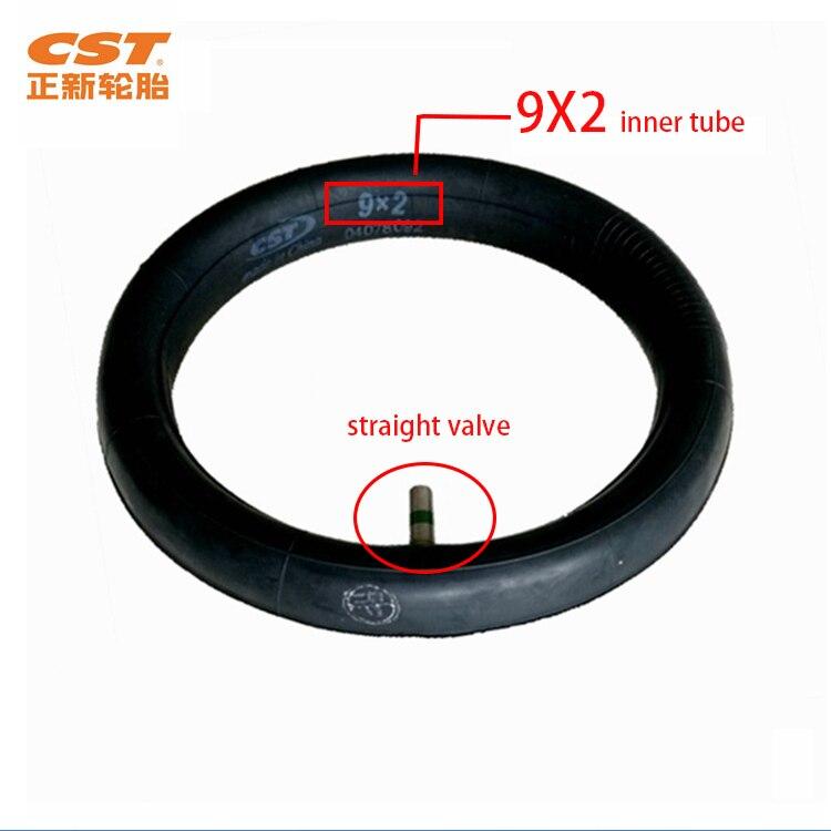 Утолщенная оригинальная CST 9x2 внутренняя труба надувные шины 8 1/2X2 для Xiaomi Mijia M365 электрический скутер замена шин внутренняя трубка