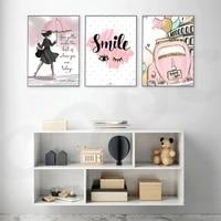 Affiche en toile avec sourire et yeux  peinture artistique  decoration de salon  moderne  decor de maison  image murale imprimee nordique et doree