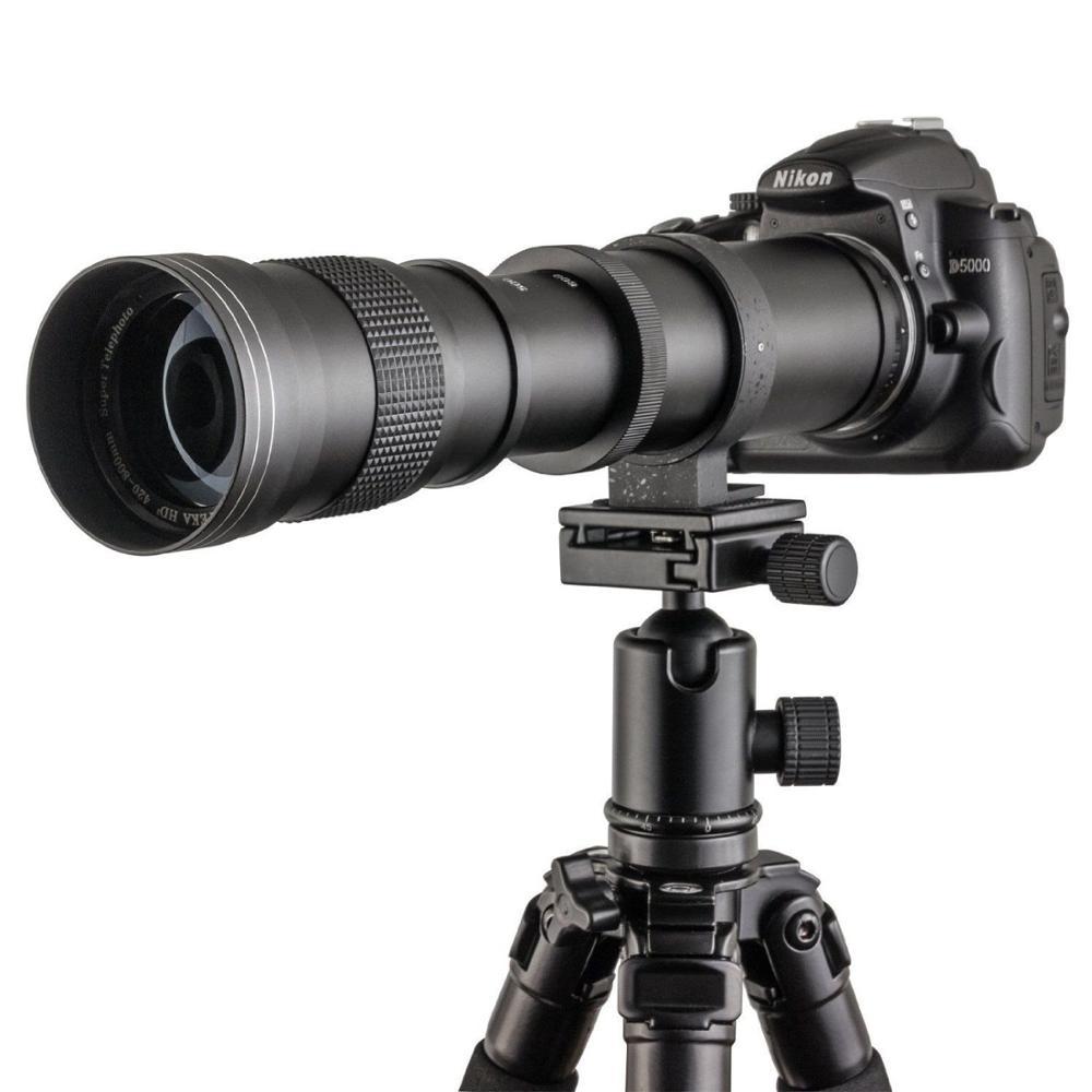 420-800mm F/8.3 - F/16 Telephoto Lens for Canon Nikon Minolta Pentax Sony DSRL