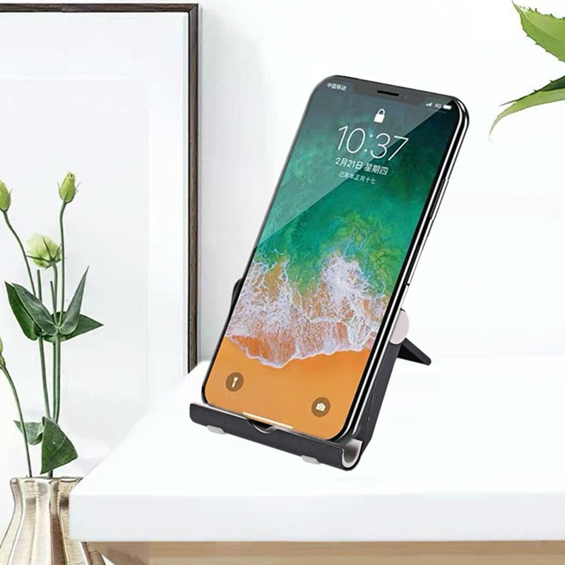 Universal Portable Mini Desk Stand Mobile Phone Holder Mount Stand Foldable For IPhone Samsung Xiaom