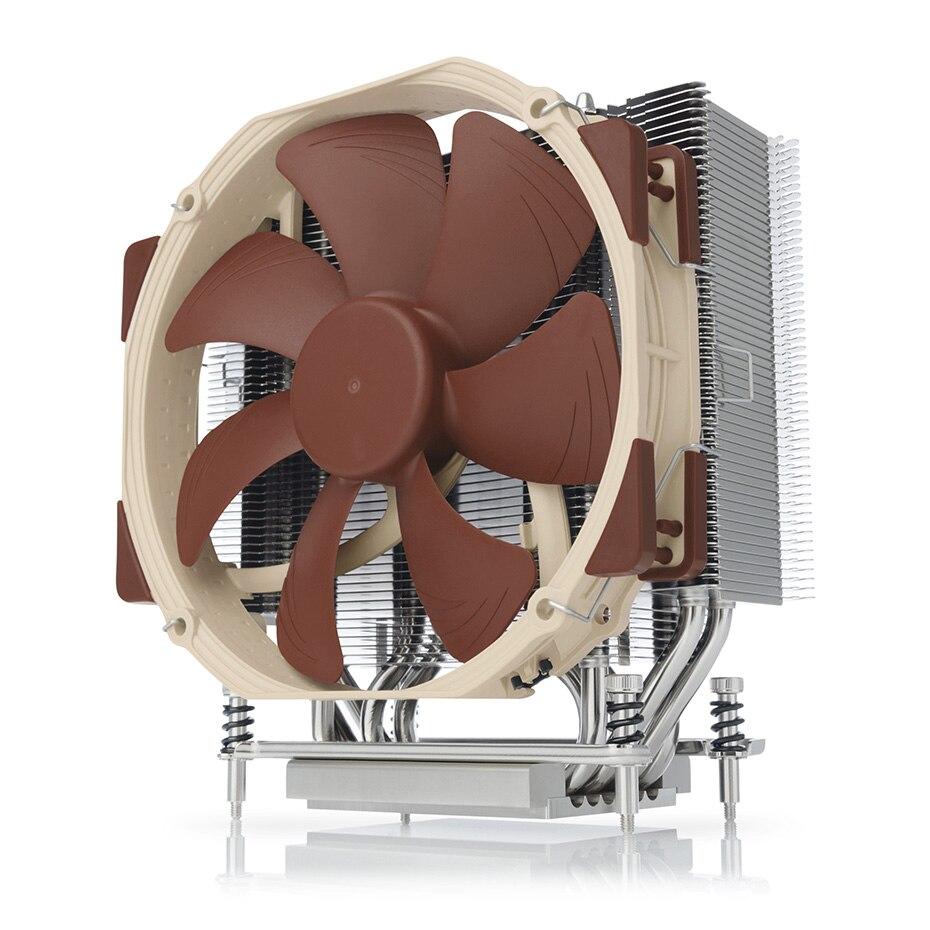 Noctua NH-U14S TR4-SP3 6 Heatpipe computadora radiador enfriador de CPU NF-A15 ventilador PWM 140mm silencio para AMD sTRX4... TR4... SP3